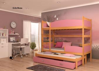 Etagenbett Schutzgitter : Stilvolle platzsparende dreibett etagenbetten ehaus deko