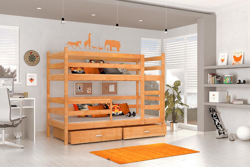 Etagenbett Schutzgitter : Doppelstockbett etagenbett kinderbett bett jugendbett hochbett