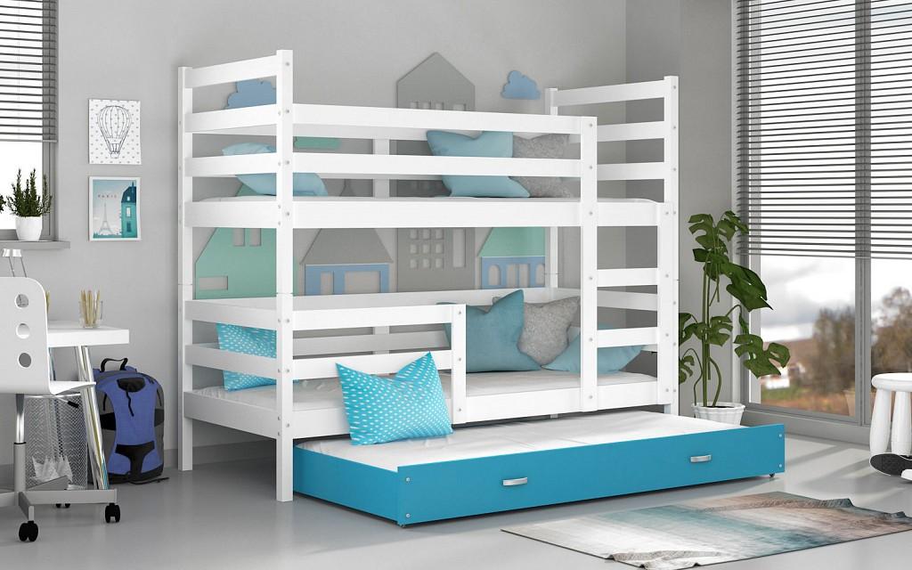Etagenbett Liegefläche 80 180 : Weiß etagenbetten und weitere hoch günstig